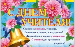 С днем рождения поздравления учителю своими словами. Поздравления с днём учителя в прозе