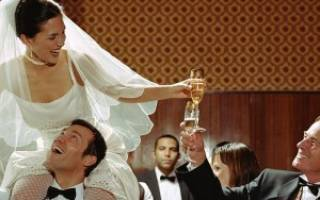 Свадебные тосты пожелания. Прикольные свадебные тосты