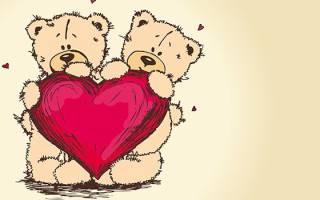 Прекрасные валентинки ко Дню святого Валентина (Дню всех влюбленных). Валентинки своими руками: поздравление с днем святого валентина