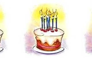 С чем можно поздравить на день рождения. Поздравления с днем рождения своими словами