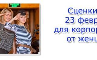 Оригинальное поздравление с 23 февраля от женщин