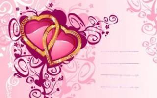 Поздравления со святым валентином открытки. Трогательные поздравления в картинках с днем святого валентина