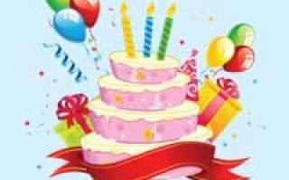 Анимационное музыкальное поздравление с днем рождения женщине. Музыкальные поздравления