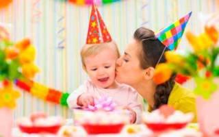 День рождения сына 1 год в прозе. Поздравления с годиком для мальчика